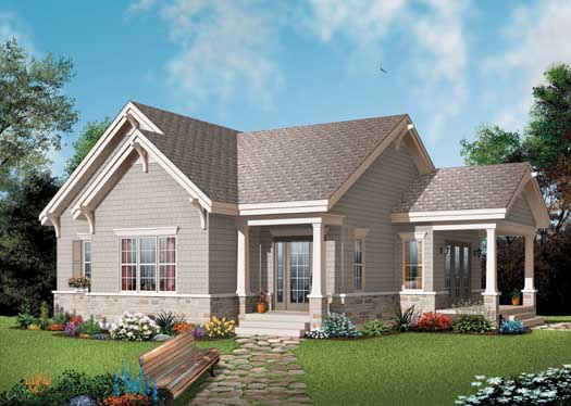 Traditional Style House Plans Plan: 5-172