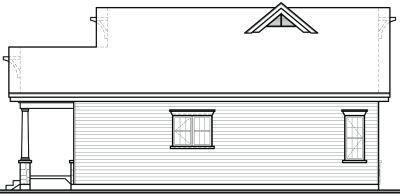Rear Elevation Plan: 5-172