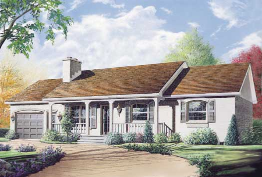 Ranch Style House Plans Plan: 5-176