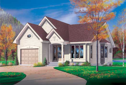 Traditional Style House Plans Plan: 5-180