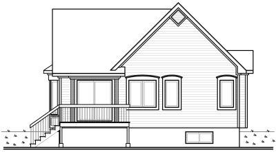 Rear Elevations Plan:5-180