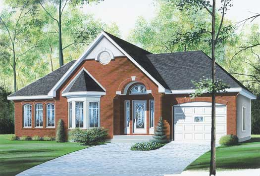 Traditional Style Floor Plans Plan: 5-181