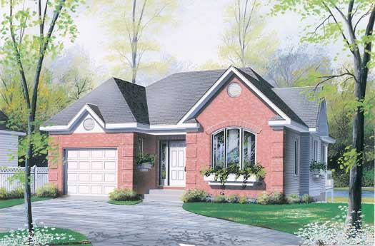 European Style Floor Plans 5-183