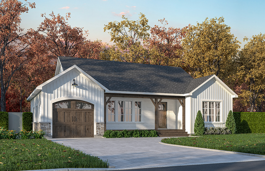 Traditional Style Floor Plans Plan: 5-185