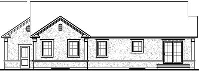 Rear Elevation Plan: 5-191