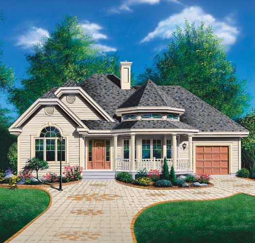 Traditional Style Floor Plans Plan: 5-200