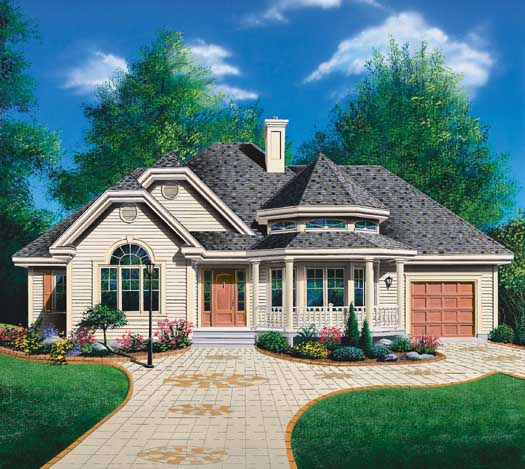 Traditional Style House Plans Plan: 5-201