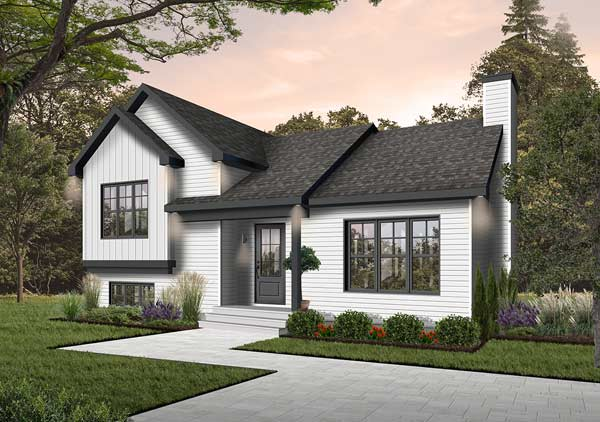 Traditional Style House Plans Plan: 5-203