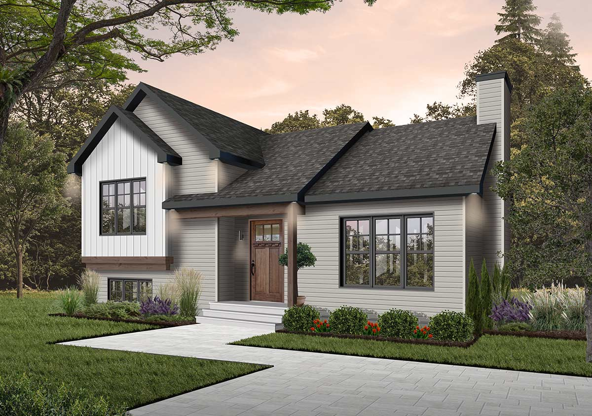 Traditional Style House Plans
