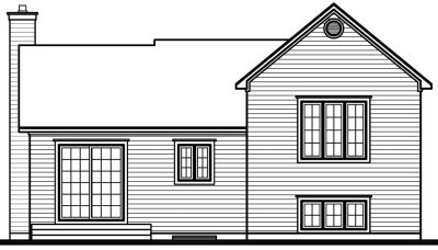 Rear Elevations Plan:5-203
