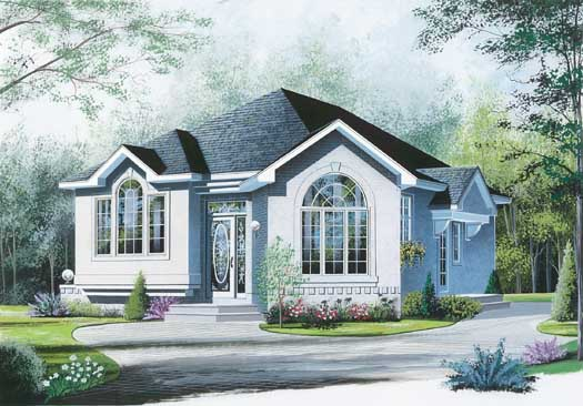 Traditional Style House Plans Plan: 5-204