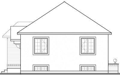 Rear Elevation Plan: 5-204
