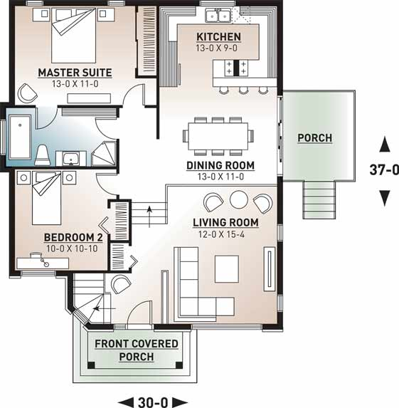 Main Floor Plan: 5-205