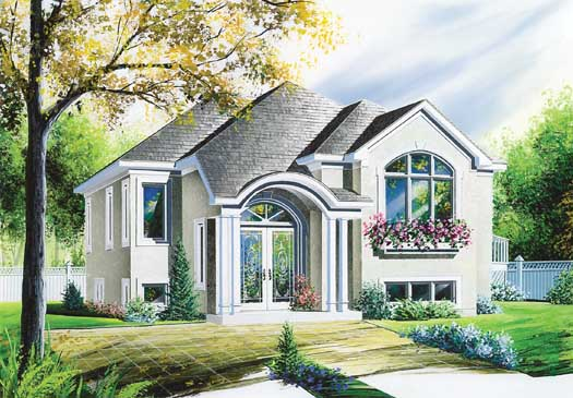 Contemporary Style Floor Plans Plan: 5-207