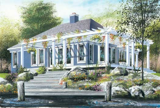 Traditional Style House Plans Plan: 5-212