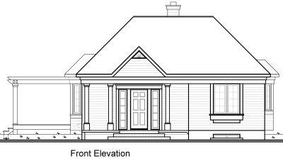 Rear Elevation Plan: 5-212