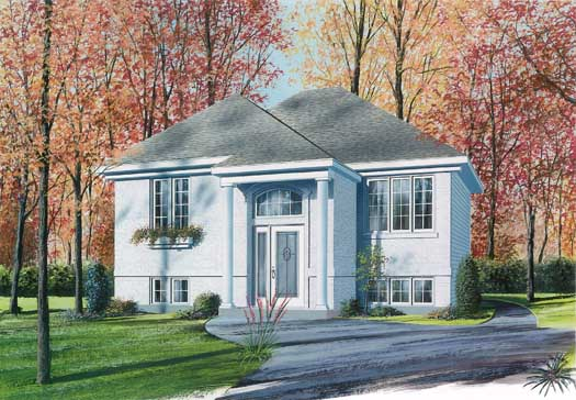 Traditional Style House Plans Plan: 5-215