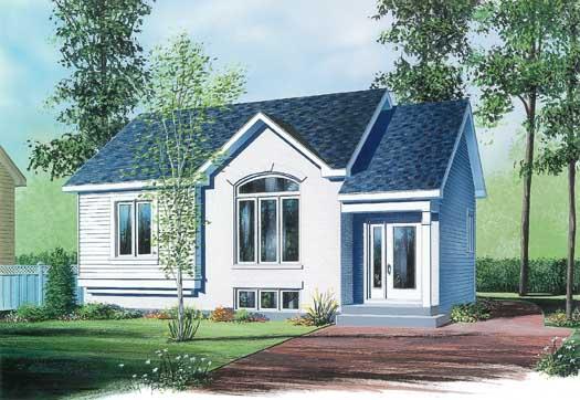 European Style House Plans Plan: 5-216