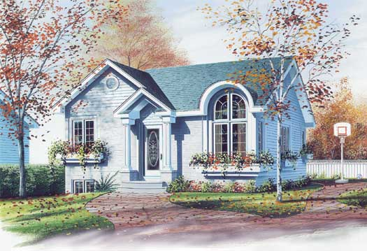 Traditional Style House Plans Plan: 5-218