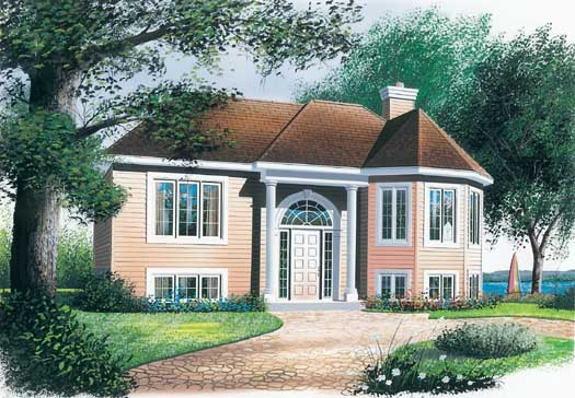 Traditional Style Home Design Plan: 5-219