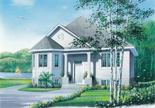 Traditional Style Floor Plans 5-220