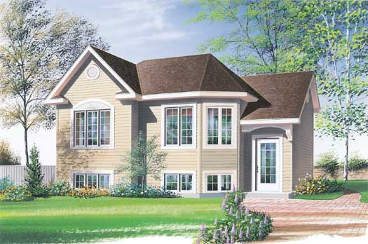 Traditional Style Home Design Plan: 5-221
