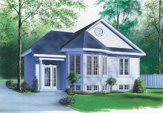 Traditional Style Floor Plans 5-222