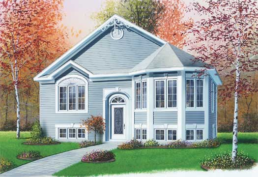 Traditional Style House Plans Plan: 5-223