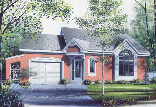 Traditional Style House Plans Plan: 5-226