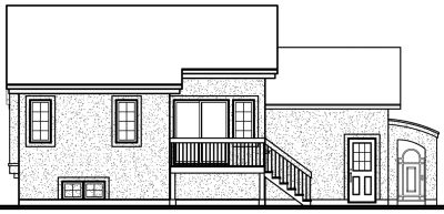 Rear Elevation Plan: 5-226