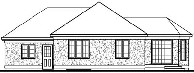 Rear Elevation Plan: 5-228