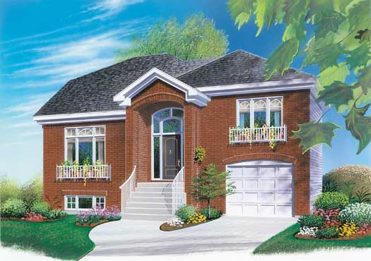 Traditional Style House Plans Plan: 5-234