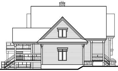 Rear Elevation Plan: 5-237