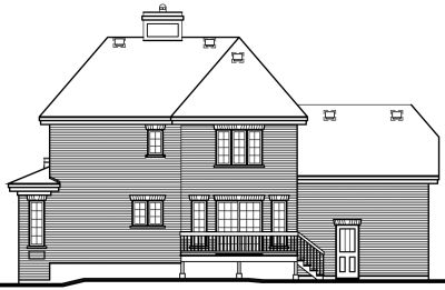 Rear Elevation Plan: 5-241