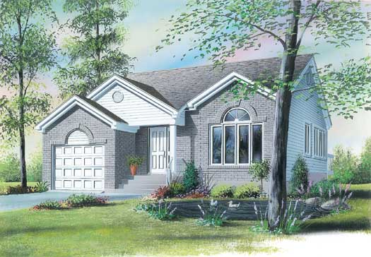 Traditional Style House Plans Plan: 5-247