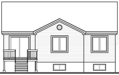 Rear Elevation Plan: 5-247