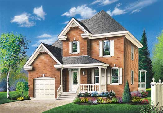 Country Style House Plans Plan: 5-248
