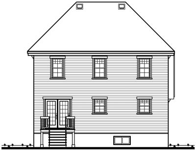 Rear Elevations Plan:5-248