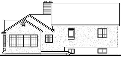Rear Elevation Plan: 5-249