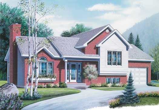 Traditional Style Floor Plans Plan: 5-250