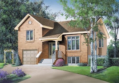 Traditional Style House Plans Plan: 5-251