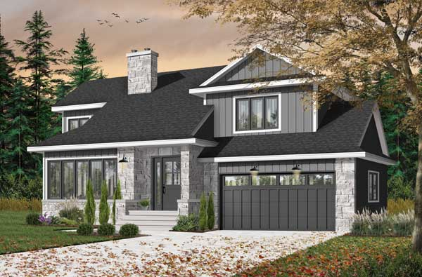 Traditional Style House Plans Plan: 5-256
