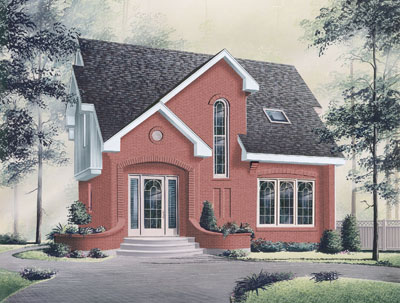 European Style House Plans Plan: 5-259