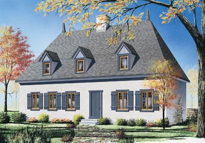 European Style House Plans Plan: 5-262