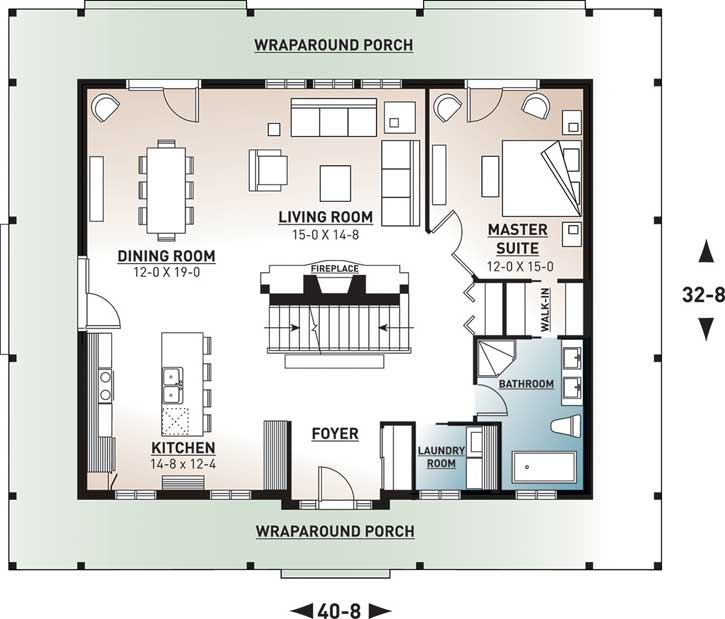 Main Floor Plan: 5-267