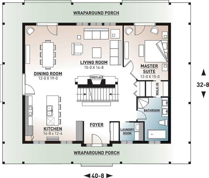 Main Floor Plan: 5-267