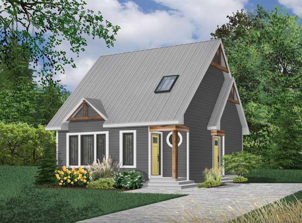 Traditional Style Floor Plans Plan: 5-268