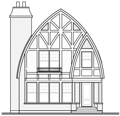 Rear Elevation Plan: 5-269