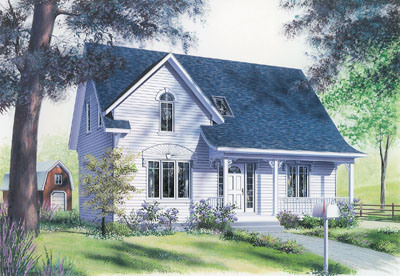 Country Style House Plans Plan: 5-270