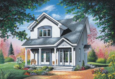 Country Style House Plans Plan: 5-273